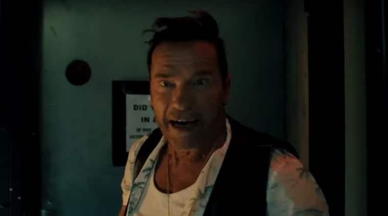 Arnold Schwarzenegger, Arnold Schwarzenegger killing gunther, killing gunther trailer