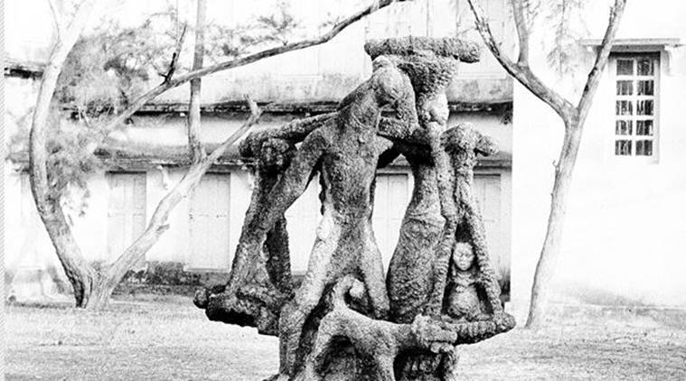 Ramkinkar Baij,  Somendra Nath Bandyopadhyay ,  Santhal Family, Santhal tribe, Visva Bharati, Guwahati, Assam, bengal Art, Bengali artists, Art and Culture news, Indian Express News