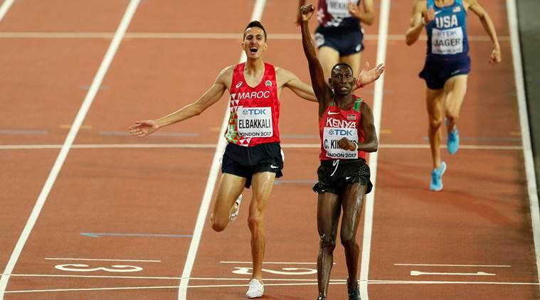 world championships athletics, world championships london, Conseslus Kipruto