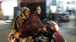 Kiran Bedi, Kiran Bedi night patrolling, security for women, Puducherry Governor Kiran Bedi, Kiran Bedi without helmet, Pondicherry security, india news, indian express