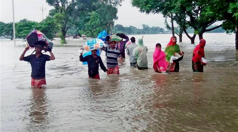 Seemanchal flood, Kishanganj flood, Bihar flood, Seemanchal flood rescue operation, authorities on Seemanchal flood, India flood, indian express news