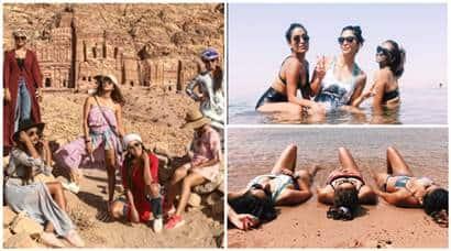 Kishwer Merchantt, Asha Negi, Pooja Gor, Pryanca Talukdar, who is Pryanca Talukdar, tv celebs bikini photos, tv celebs Jordan pictures