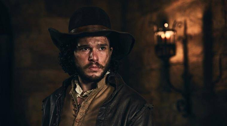 kit harington gunpowder, gunpowder, kit harington look in gunpowder, kit harington bbc one