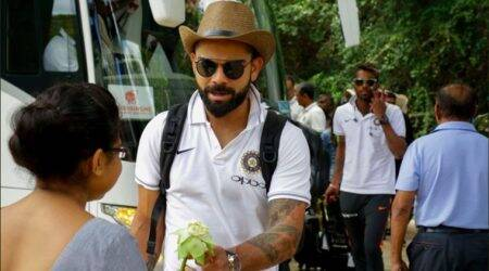 Virat Kohli-led Indian team arrives in Dambulla for first ODI against Sri Lanka; see pics