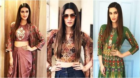 Kriti Sanon goes boho-chic and quirky with her style statement for Bareilly Ki Barfi promotions