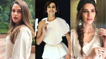 Taapsee Pannu, Kriti Sanon, Neha Dhupia show us different ways to wear white