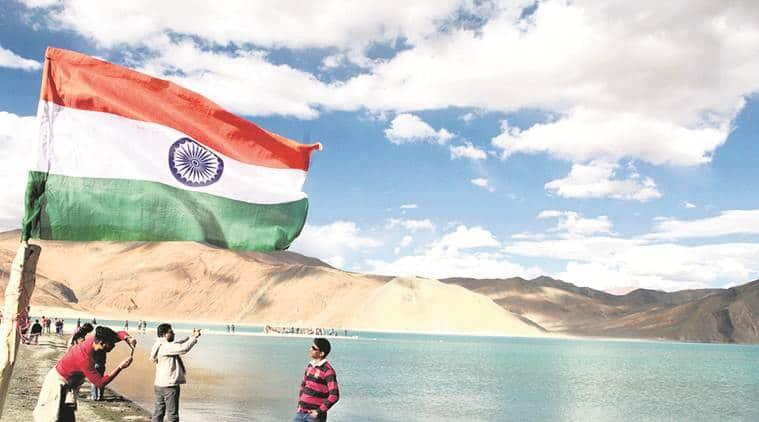 ladakh, ladakh scuffle. ladakh china, ladakh tension, india china, doklam, pangong tso, pangon lake, india china clash, ladakh china, china in indian border, indian express news