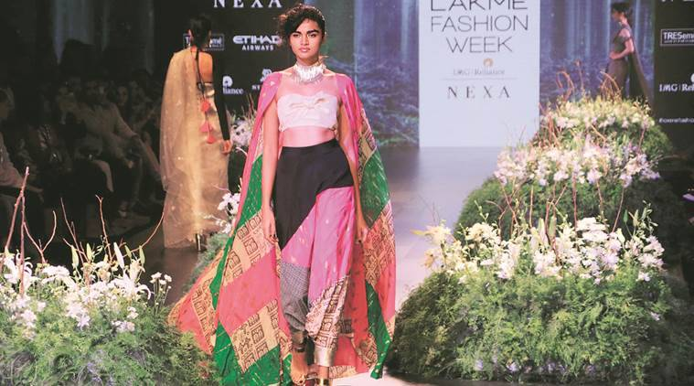 DESIGNER Masaba Gupta, Lakme Fashion Week, Winter-Festive 2017, Himalayan Orchard Pure, India news, fashion news, latest news, India news, National news