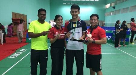 Lakshya Sen, Asia Cup, World junior Championship, sports news, badminton, Indian Express