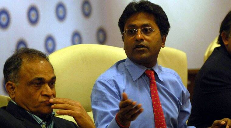 Lalit Modi, BCCI, Indian Express