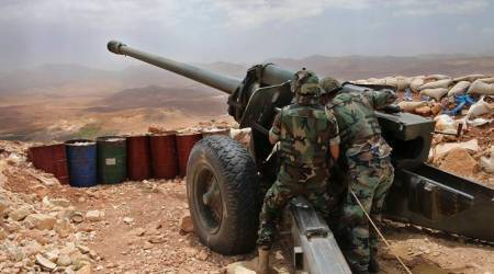 Syrian army breaks siege by opposition forces on outskirts of Damascus