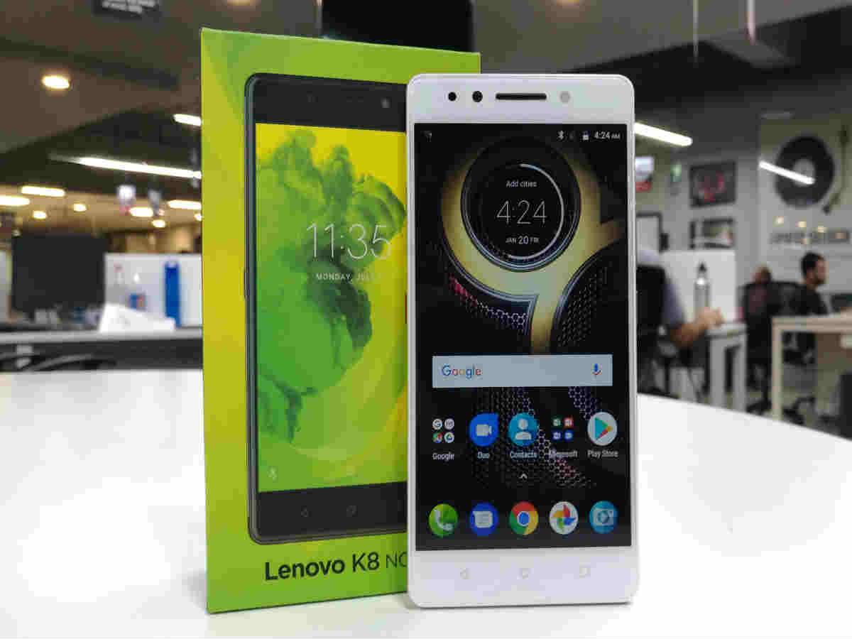 Lenovo K8 Note first impressions: The new budget option with dual