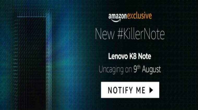 Image result for Lenovo K8 Note to launch in India Today