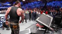 WWE SummerSlam, WWE SummerSlam photos, Summerslam 2017 photos, Brock Lesnar, Roman Reigns, Jinder Mahal, WWE photos, john cena, wwe news, sports news