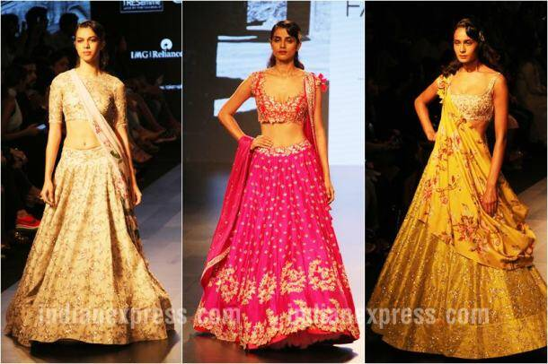 lakme fashion week, lakme fashion week winter festive 2017, lfw 2017, vaani kapoor, nargis fakri, saiyami kher, anushree reddy, manish arora, wendell rodricks, nachiket barve, sonam and paras modi, celeb fashion, bollywood fashion, indian express, indian express news