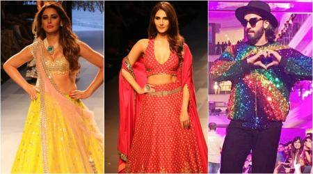 Vaani Kapoor, Nargis Fakri, Ranveer Singh stun as showstoppers on Day 4 of LFW W/F 2017