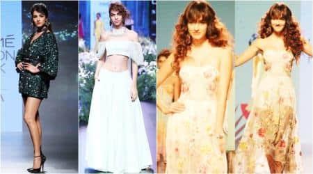 Lakme Fashion Week (LFW) Winter/Festive 2017, lfw, lfw 2017, masaba, sanjay garg, ritu kumar, disha patani, sayani gupta, sonal chauhan, indian express, indian express news