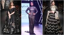 lakme fashion week, sunny leone, bhumi pednekar, dia mirza, malaika arora khan, kriti sanon, taapsee pannu, aditi rao hydari, kriti sanon lakme fashion week, malaika lakme fashion week, lakme fashion week winter/festive, lfw w/f 2017, lakme fahion week celebs, bollywood celebrities lakme fahion week, lfw book actors, fashion news, arpita mehta, ridhi mehra, vineet rahul, lfw 2017 winter, fashion news, lifestyle news, indian express, lakme fashion week photos, kriti sanon photos