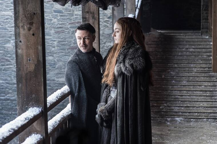 littlefinger, sansa stark, game of thrones, game of thrones season 7 review, game of throne season 7