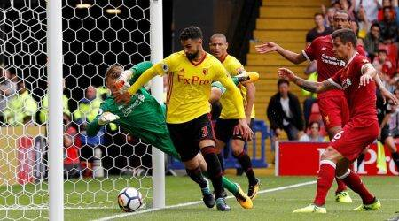 Liverpool concede late goal, draw 3-3 at Watford
