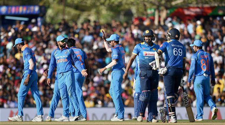 Image result for india vs sri lanka odi 2017