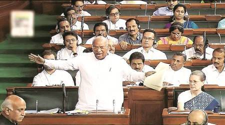 lok sabha, parliament monsson session, mallikarjunkjharge, india news