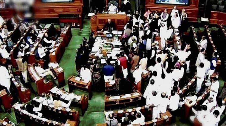 Lok Sabha, lok sabha ruckus, Kirit Somaiya, hawala charge, BJP, Congress