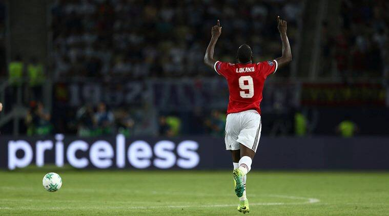 Romelu lukaku, manchester united, united, real madrid, madrid, manchester united vs real madrid, uefa super cup, super cup, football, sports news, indian express