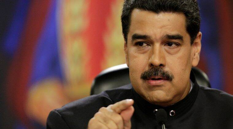 Venezuelan President Nicolas Maduro,  U.S. President Donald Trump, Maduro on Trump, Maduro thanks Trump, Maduro famous, Trump, World news, Indian Express News