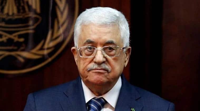 Palestinians, Palestinian President Mahmud Abbas, Mahmud Abbas, Palestinian Presidential Palace, Palestine National Library, World News, Latest World News, Indian Express, Indian Express News