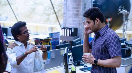 New Spyder stills highlight Mahesh Babu and AR Murugadoss' working style