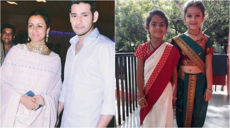 Photo Mahesh Babus Daughter Gets Marathi Makeover Reminds Us Of A