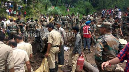 Mandi: Day after massive landslide, village near National Highway declared unsafe
