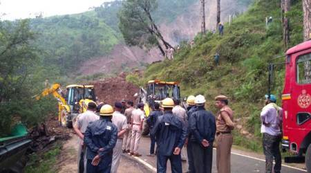 Himachal Pradesh: At least 10 dead after landslide hits two buses in Mandi