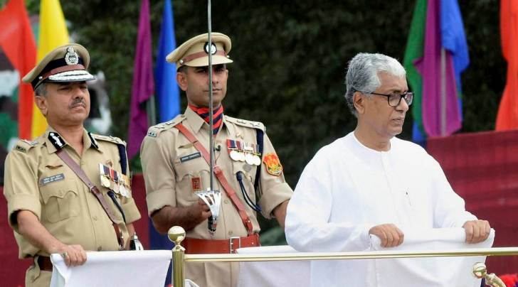 Tripura CM Manik Sarkar is contesting from Dhanpur Assembly constituency, under Sonamura sub-division.