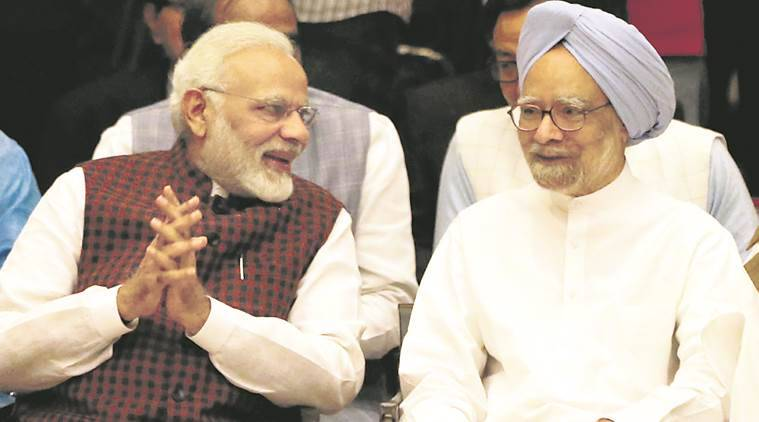Narendra Modi, manmohan Singh, Quit Indian Movement, 70 years of Quit India Movement, Indian Express, Freedom struggle, India News