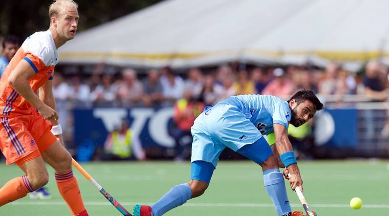 indian hockey team, india hockey, manpreet singh, varun kumar, harjeet singh, india hockey europe tour, india vs netherlands, hockey news, sports news, indian express