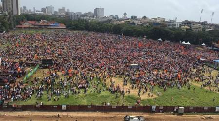 Maratha reservation protest reaches Mumbai, Fadnavis says committed to grant reservation