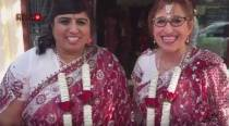 Hindu, Jewish women marry in UK's first interfaith gay wedding