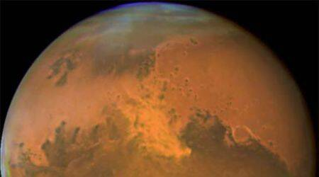 Mars, Red planet, snowstorms, Mars weather, NASA, NASA Mars