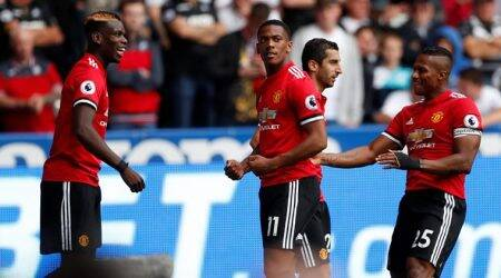 Anthony Martial is well integrated with the little French group in the team, says Jose Mourinho