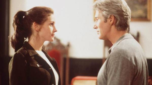 RUNAWAY BRIDE, RICHARD GERE, RICHARD GERE ROMANTIC MOVIES, RICHARD GERE MOVIES