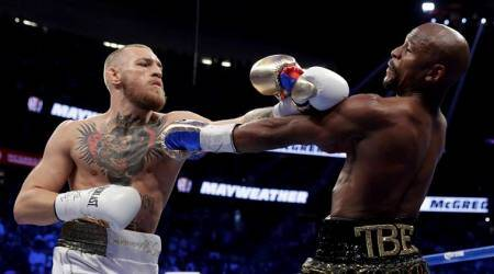 conor mcgregor, floyd mayweather, mcgregor vs mayweather, mayweather vs mcgregor tweets, boxing news, mma news, sports news, indian express