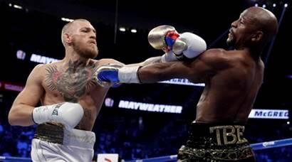 floyd mayweather, mayweather, Conor McGregor, mcgregor, mayweather vs mcgregor, mayweather retire, boxing, sports news, indian express