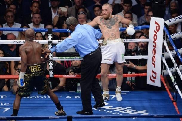 Floyd Mayweather knocks out Conor McGregor to win superfight