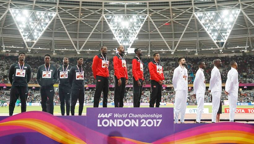 World Championships Gold medal winners from final day