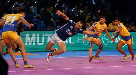 Pro Kabaddi 2017: Super Meraj Sheykh raids Tamil Thalaivas, wins it for Dabang Delhi