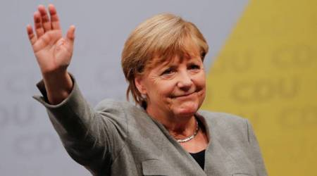 angela merkel, german chancellor, merkel coalition, fdp, pdp, indian express