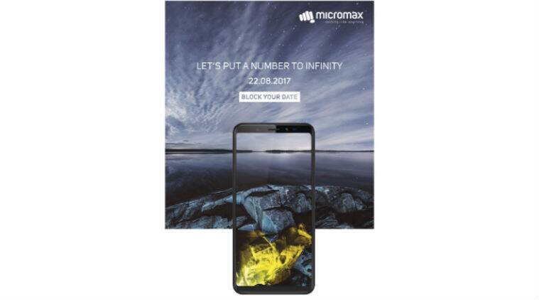 Micromax Confirms Infinity Smartphone Series Launch on August 22