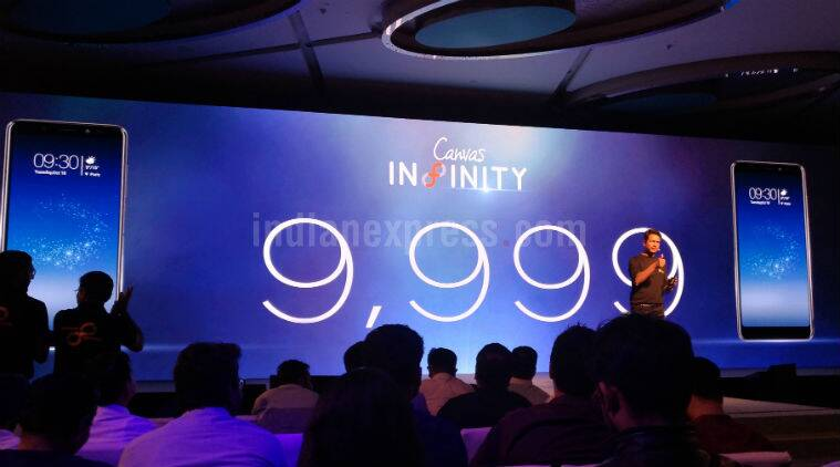 Micromax Canvas Infinity With 5.7-Inch 18:9 Display Launched in India: Price, Specifications - NDTV